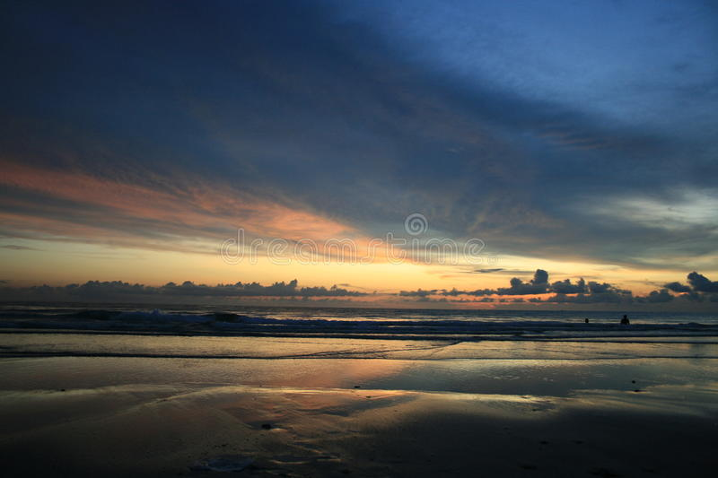 Sunset Over The Beach, Koh Chang, Thailand. Royalty Free Stock Photography