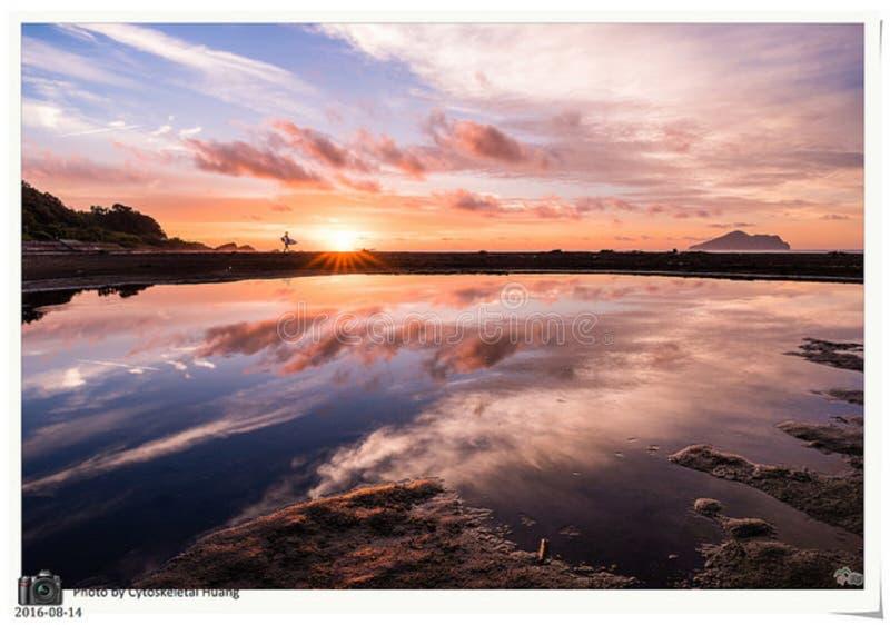 Sunset Over Coastline Free Public Domain Cc0 Image