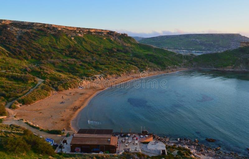 Download Sunset Over Golden Bay - Malta Stock Photo - Image: 24004354