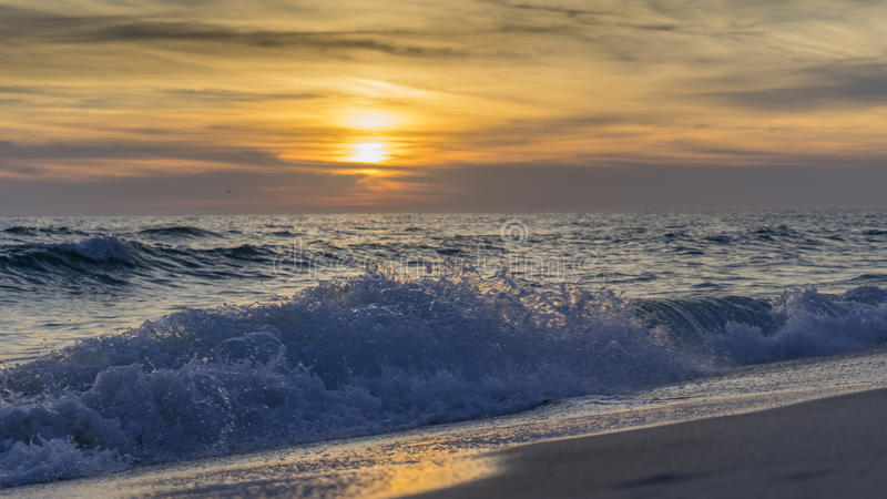 Sunset Over the Gulf royalty free stock photography