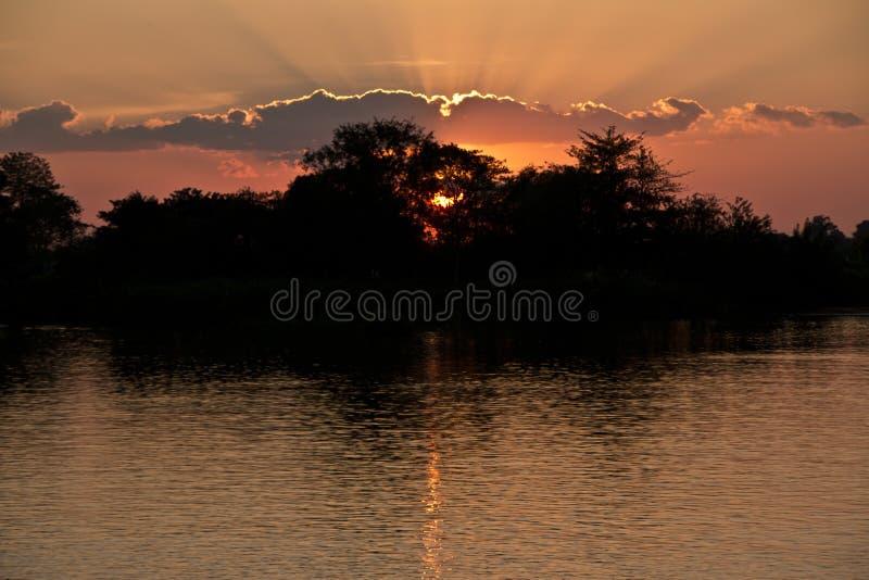 Sunset over stock photos