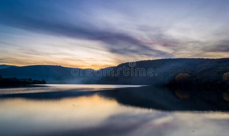 Sunset Over Lake Landscape Free Public Domain Cc0 Image