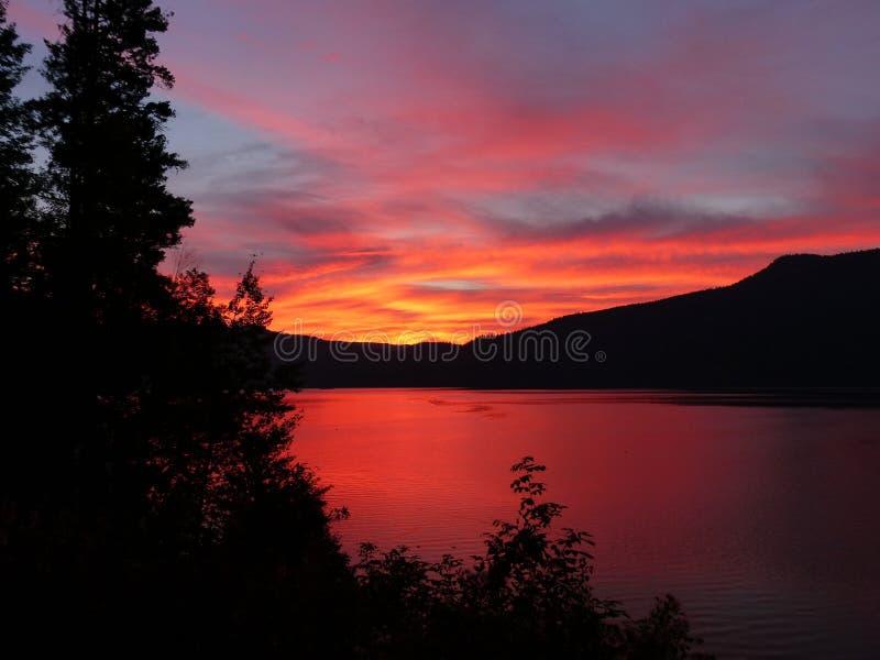 Sunset Over Lake Shores Free Public Domain Cc0 Image