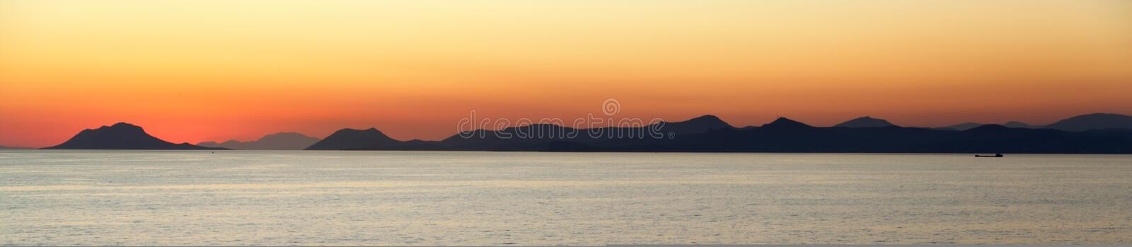 Download Sunset Over The Mediterranean Islands Stock Photo - Image: 20828080