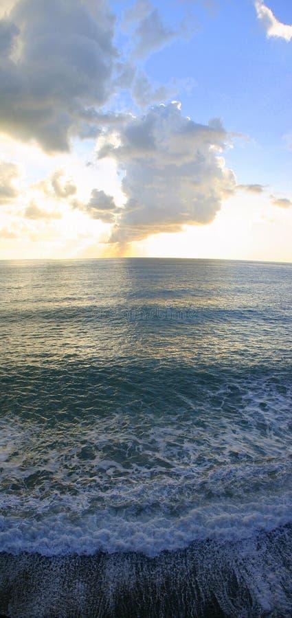 Download Sunset Over Mediterranean Sea Stock Image - Image: 3765113