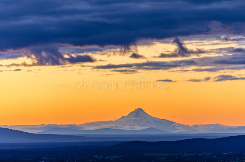 Download Sunset Over Mt. Hood Royalty Free Stock Image - Image: 31925166