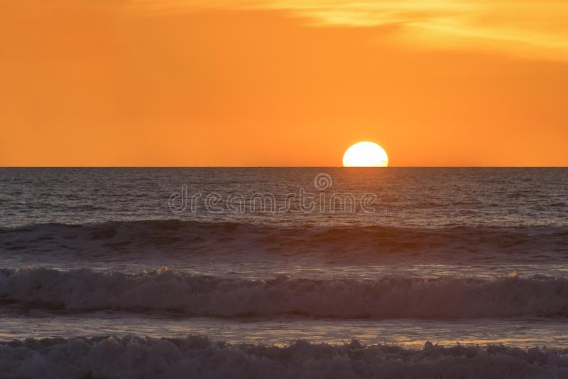 San Diego Sunset stock photo