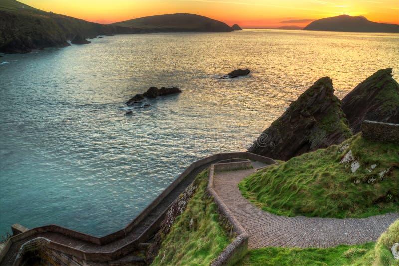 Download Sunset Over Rocky Irish Coast Stock Images - Image: 18067364