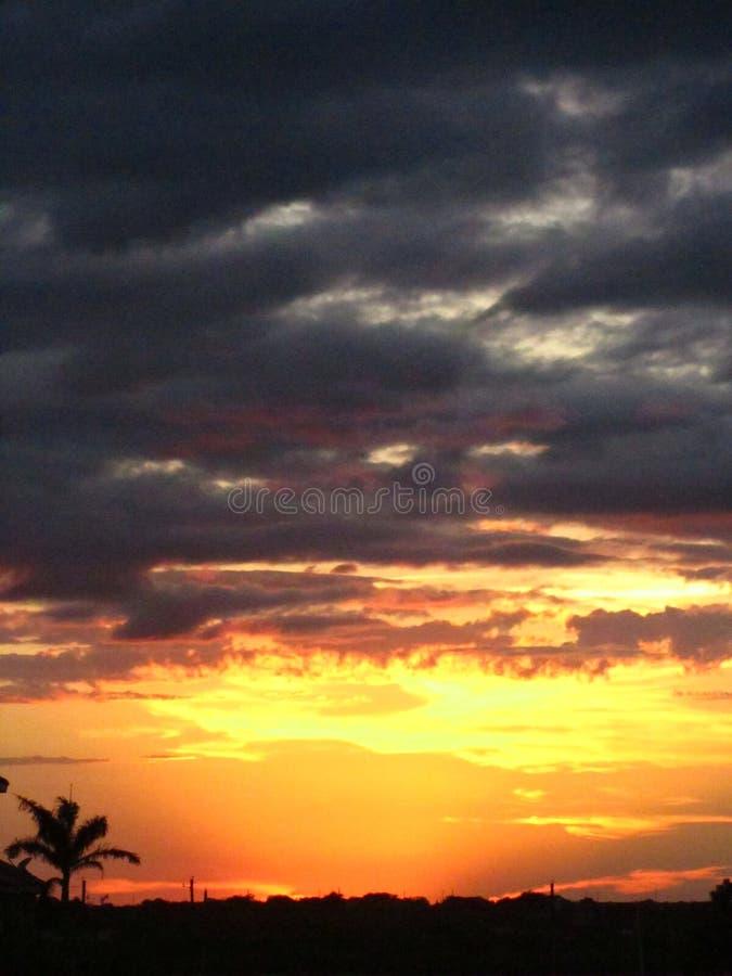 Sunset over South Texas stock photos