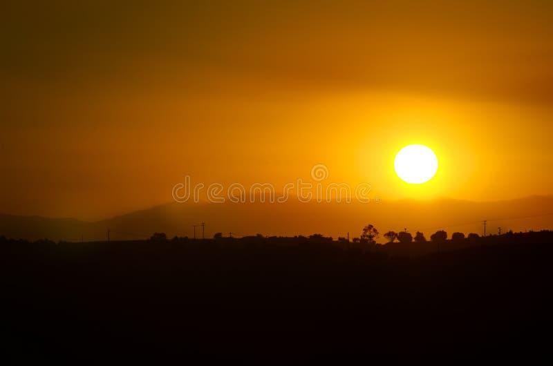 Download Sunset Over Village Stock Images - Image: 33535054