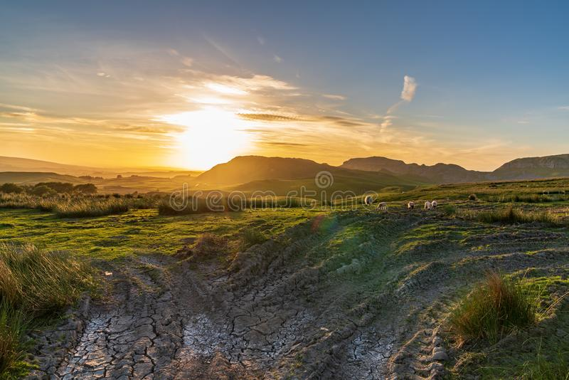 Near Settle, North Yorkshire, England, UK royalty free stock photography