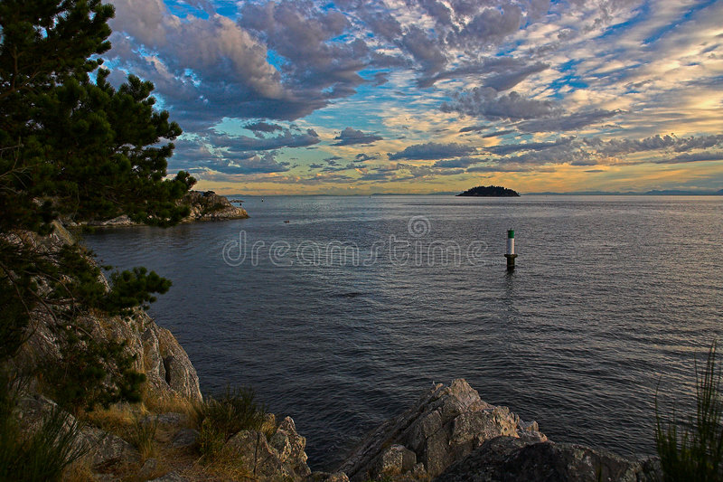 Download Sunset In Pacific Northwest Stock Photo - Image: 942734