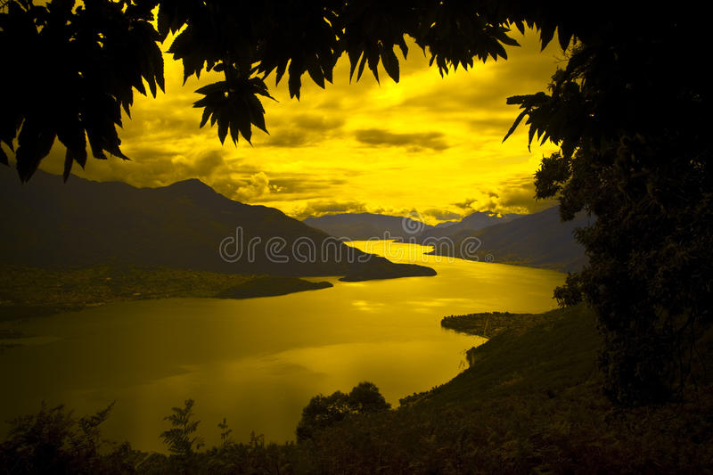 Download Sunset Peace Stock Image - Image: 21269931