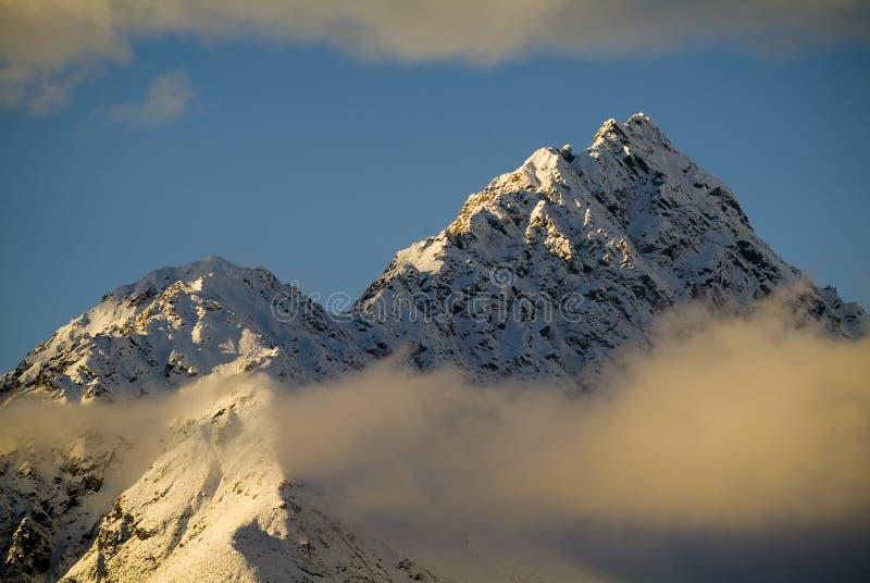 Download Sunset Peak stock image. Image of mountaineering, tourist - 14398519