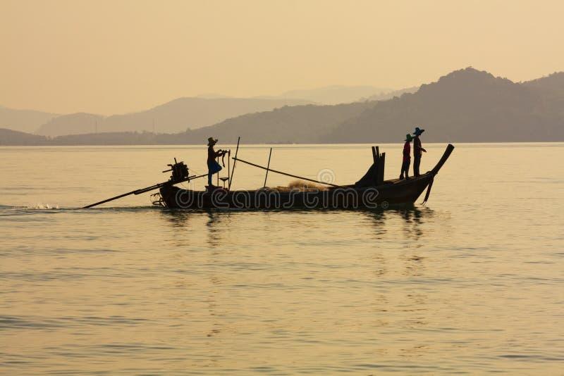 Download Sunset, Phang Nga Bay stock image. Image of marine, asia - 19107235