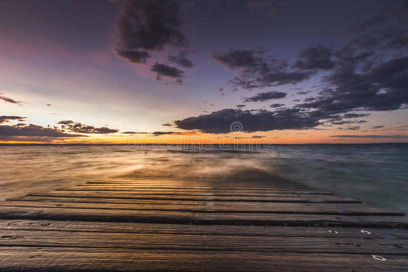 Sunset at Phillip Island royalty free stock images