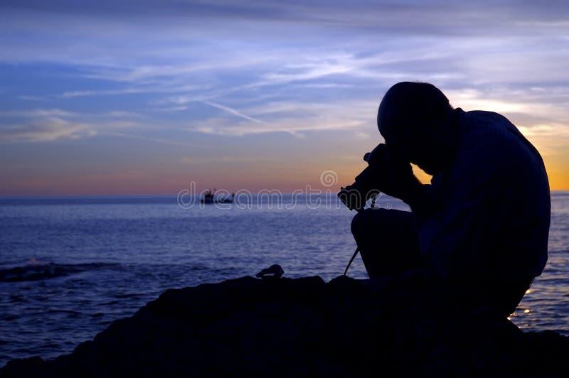 Sunset Photographer II stock images