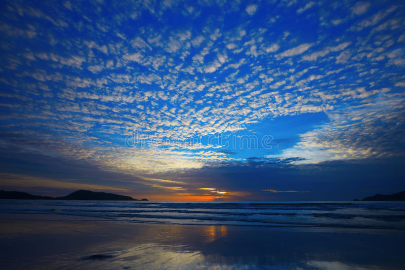 Download Sunset On Phuket Island Of Thailand Stock Image - Image: 26942281