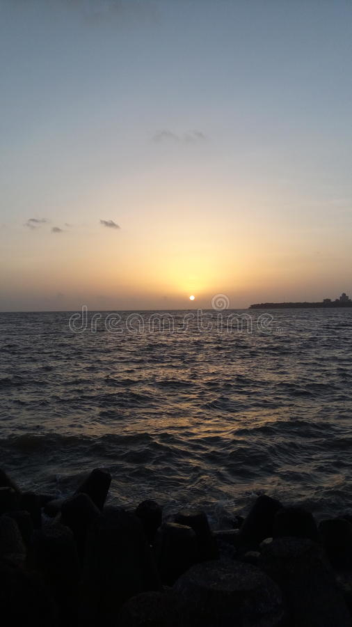 Sunset pic royalty free stock photos
