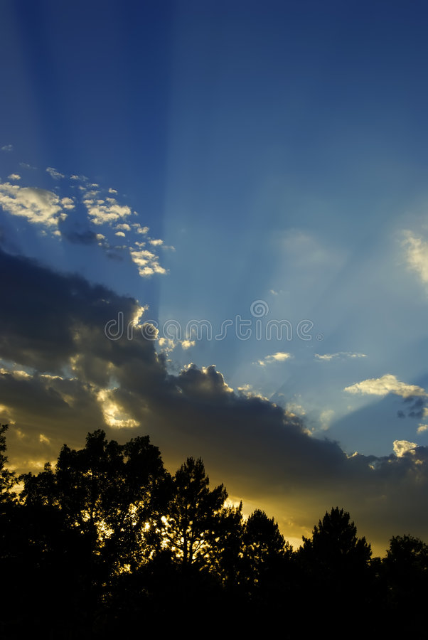 Download Sunset Rays Home B stock photo. Image of evening, bright - 3227420