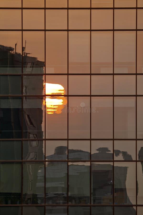 Sunset Reflections Stock Image