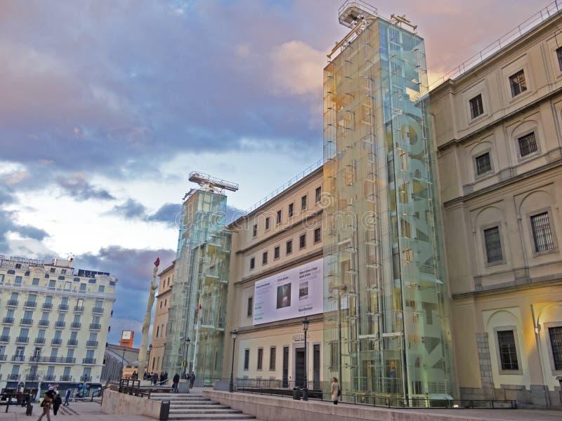Reina Sofia Museum. Madrid royalty free stock photography