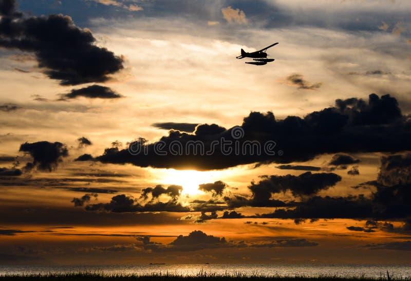 Sunset at Richmond royalty free stock photo