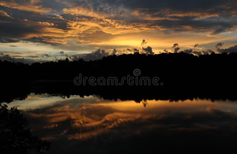 Sunset Rideau Lake Lake royalty free stock image