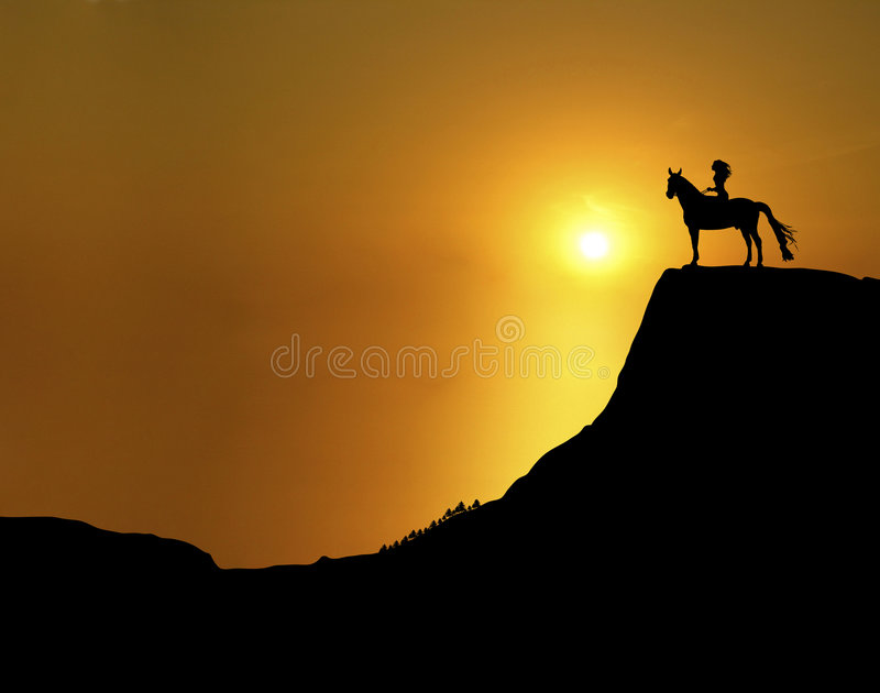 Sunset Ridge 2 Royalty Free Stock Images
