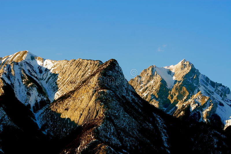 Download Sunset In Rocky Mountains, Canada Stock Photo - Image: 11306578