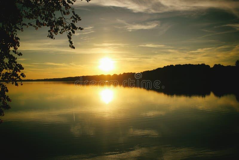 Sunset. romance. royalty free stock images