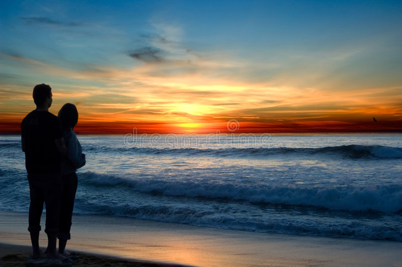 sunset romans zdjęcia stock