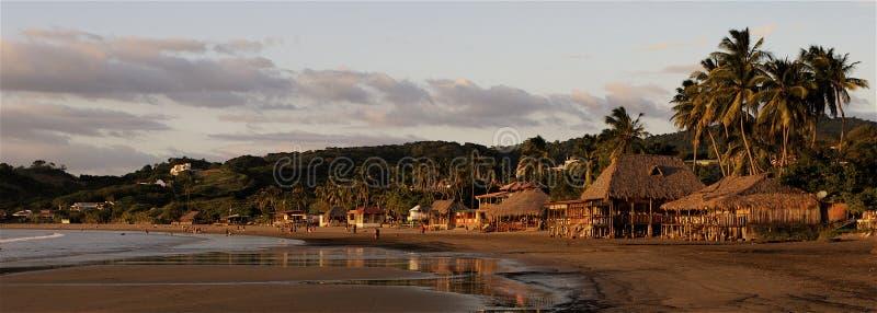 Sunset In San Juan del Sur stock photo