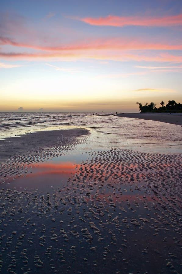 Download Sunset on Sanibel stock image. Image of cloud, nature - 1718525