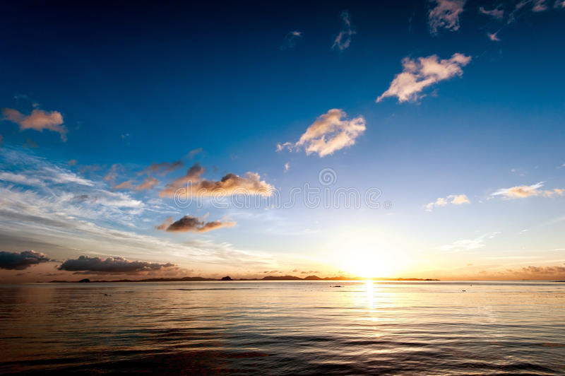 Download Sunset Sea Sky Summer Landscape Stock Image - Image: 34357939