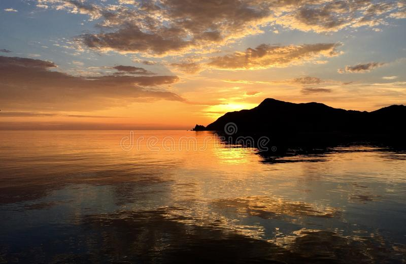 Download Sunset serenity stock image. Image of mexico, serenity - 105348581