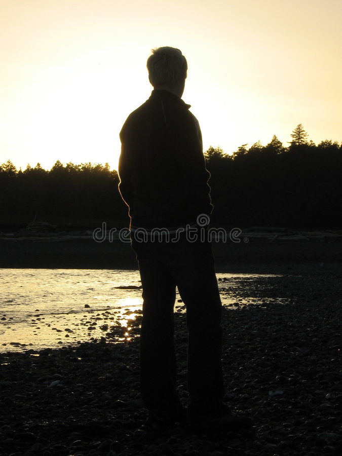 Download Sunset Silhouette stock photo. Image of silhouette, shadow - 729514