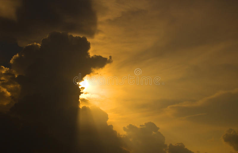 Sunset And Sky Royalty Free Stock Images