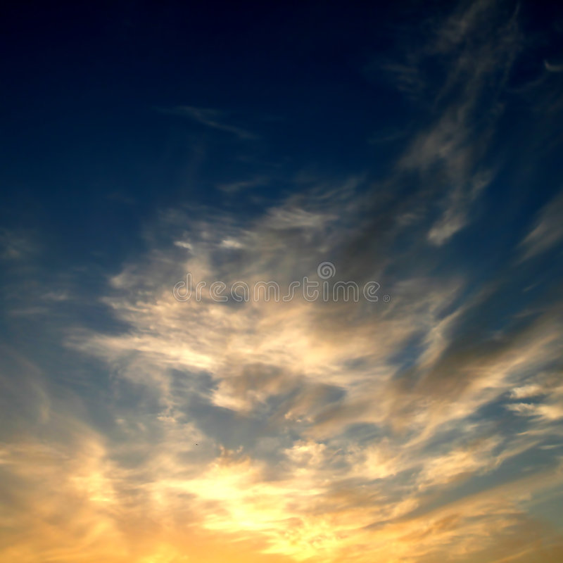 Download Sunset Sky Royalty Free Stock Images - Image: 6046069