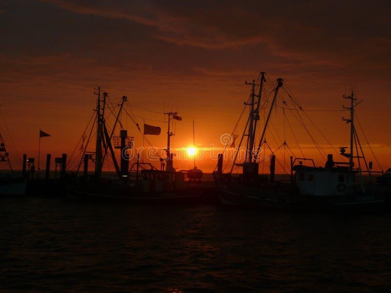 Sunset, Sky, Afterglow, Sea stock photo