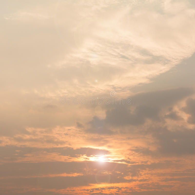 Download Sunset sky stock photo. Image of atmosphere, beautiful - 34359552