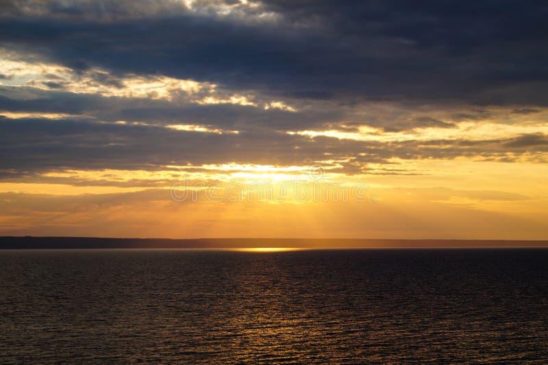 Sunset sky. royalty free stock photography