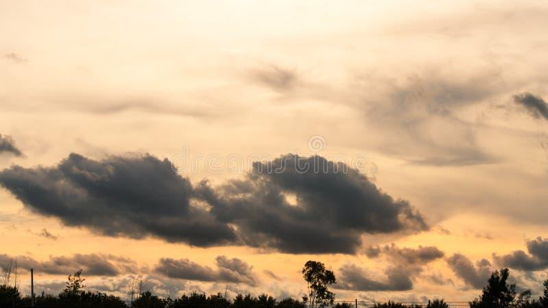 Sunset Sky stock photography