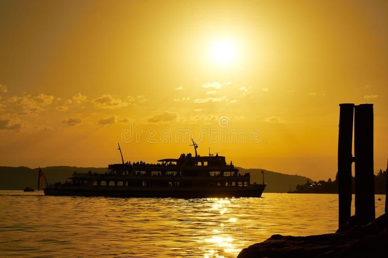 Sunset, Sky, Sunrise, Sea stock photography