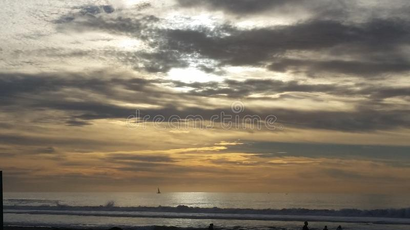 Sunset Sky royalty free stock images