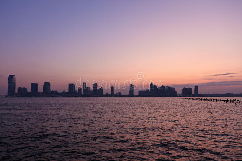 Sunset Skyline Stock Photography