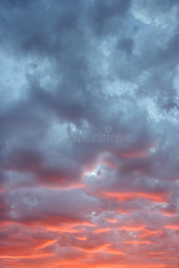 Download Sunset skyscape. stock photo. Image of landscape, season - 3674994