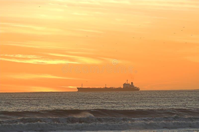 sunset statku obrazy stock