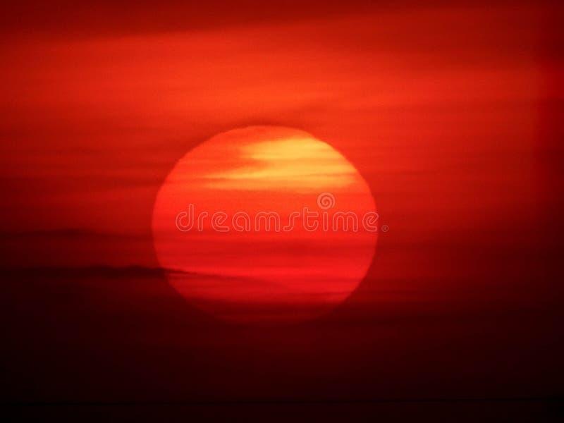 Sunset/sunrise royalty free stock photos