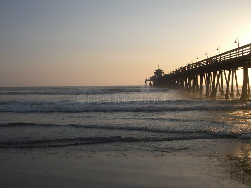 Sunset surf stock photos